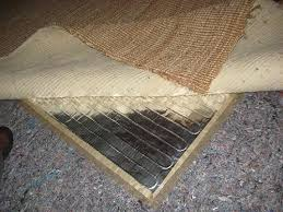 heating installations throw rug pads duck rug