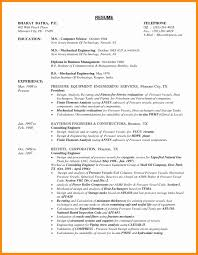 Resume Format For Diploma Mechanical Engineers Freshers Pdf Luxury