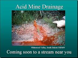 Image result for acid mine drainage images