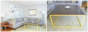 diy modern metal coffee table aka the