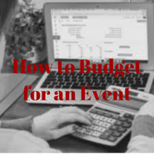 Budgeting For An Event A Step By Step Guide To Budgeting For An Event Blackstone Shooting