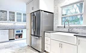 gray kitchen backsplash white kitchen cabinets with gray brick tile transitional kitchen gray subway tile kitchen