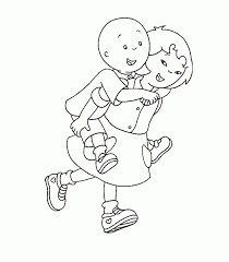 Caillou Coloring Pages Print Caillou Coloring Pages Educational Fun