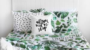 Patterned Bedding Simple Design Ideas