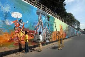 wall painting artists bangalore