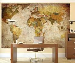 world map wall vintage world map wall mural world map wall art with pins