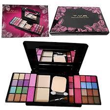 t y a fashion makeup kit 24eye shadows palette 4 lip colour 2pact powders 4blushers