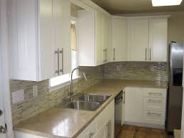 White Stained Wood Kitchen Cabinets Kitchen Simple Elegant Kitchen Dining Room Furniture Advanced