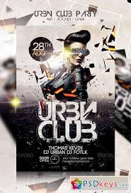 Club Flyers Address Urban Club Party Flyer 8566858 Free Download Photoshop