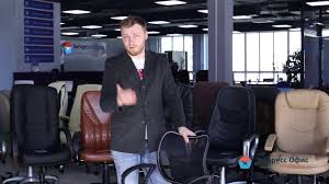 Обзор <b>офисного кресла Chairman 450</b> LT - YouTube