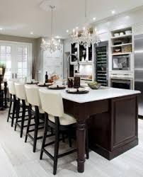 cream colored bar stools.  colored elegant kitchen design with cream leather barstools double crystal  chandeliers inside cream colored bar stools p