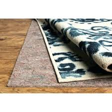 home non slip dual surface felted rug pad 5x8