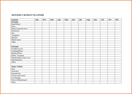 Monthly Budget Planning 039 Template Ideas Sample Personal Budget Spreadsheet