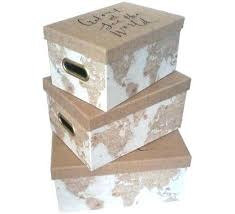 Decorative Storage Box Sets Small Decorative Storage Boxes World Travel Decorative Boxes Set 58
