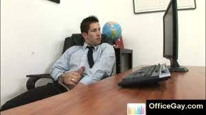 Office Suit Male Masturbation