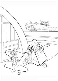 Disney Planes Dusty Coloring Pages Dusty Talks With Ripslinger El