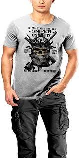 Usmc Scout Sniper T Shirt Marine Corp Boonie Hat Semper Fidelis