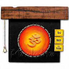 home indian handicrafts image rustic art image rustic om art ideal gift for housewarming ceremony image