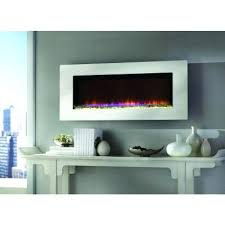 stainless steel electric fireplace with wall mount and remote 36 inch by northwest al