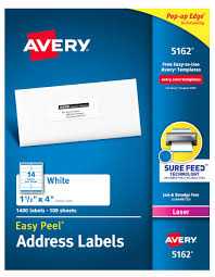 Avery 5162 Labels