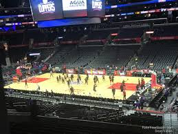 Staples Center Premier Seating Chart Staples Center Premier 12 Clippers Lakers Rateyourseats Com