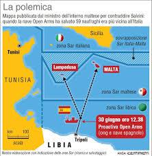 Lampedusa Mappa Italia Unixpaint