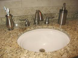 bathroom vanity tops undermount sink features brown laminated with regard to granite top for bathroom vanity renovation