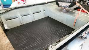 jon boat flooring mats designs