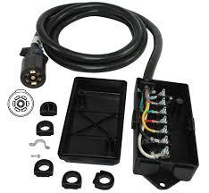 7 pole junction box trailer cordset trailer plug wiring schematic 7 wire rv plug
