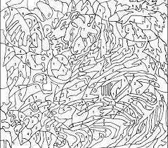 Color By Number Coloring Pages For Adults Coloring Page Cvdlipids