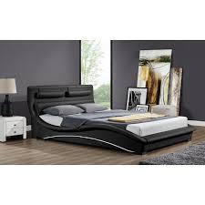Linea Bedroom Furniture Home Loft Concept Linea Upholstered Bed Frame Reviews Wayfair