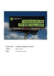 Spotify Brasil Charts A Digital Marketing Strategy For Spotify