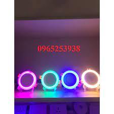 Đèn led âm trần 6w 3 chế độ sáng-Đèn led âm trần 3+3 đổi mầu tại Bắc Ninh