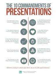 Ten Commandments Of Web Design The Ten Commandments Of Presentations Free Tool By We Are