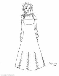 Small Picture Prom Dress Coloring Page Crayon Action Coloring Pages
