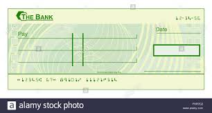 check template a blank cheque check template illustration stock photo 97011714 alamy