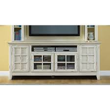 New Generation White TV Stand Stands and Entertainment Furniture