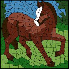 Mosaic Pattern Fascinating Free Mosaic Pattern Horse