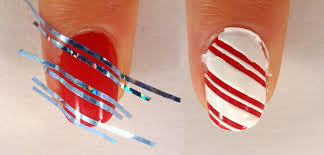 Lacquered Lawyer | Nail Art Blog: Candy Cane Lane