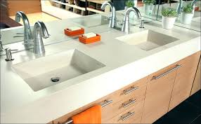how to make a concrete sink for kitchen full size of concrete cost concrete and sink how to make a concrete sink