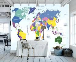 kid wallpaper usa mylar. World Map Wallpaper Kids Room U Full Size Bedroom Sets With Kid Usa Mylar