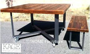 Industrial Picnic Tables Table Outdoor Antique Modern Style Recycled Wood The Old Pine In