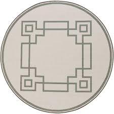 blanche beige 8 ft 9 in x 8 ft 9 in round indoor outdoor area rug