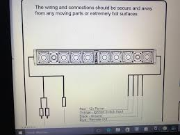 help with wiring up wetsounds stealth ultra 10 soundbar bain ultra wiring diagram name img_0916 jpg views 2799 size 78 7 kb
