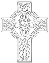 Coloring Page Of A Cross Trustbanksurinamecom