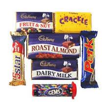 pack of 6 cadbury s orted chocolates