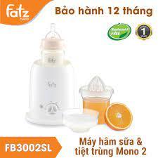 Máy hâm sữa và tiệt trùng bình sữa 4 chức năng Fatzbaby Mono 2 FB3002SL -  Máy hâm sữa Fatz Baby - Máy tiệt trùng, hâm sữa