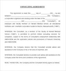 Consultancy Agreement Template Uk Consulting Contract Template