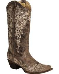 women's wedding boots country outfitter Wedding Riding Boots corral brown crater with bone embroidery cowgirl boots snip toe, brown, hi wedding reading book of isaiah