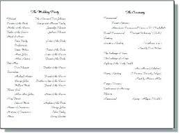 Gallery Of Printable Event Program Template Free Neerja Co